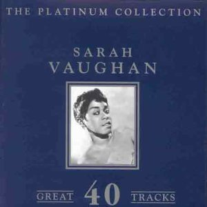 Sarah Vaughan Platinum Collection Import Gbr