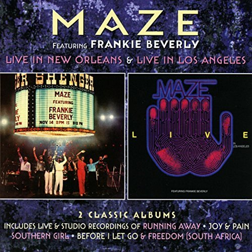 Frankie Maze Beverly Live In New Orleans Live In Import Gbr Deluxe Ed.