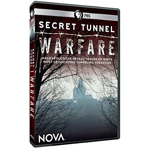 Nova Secret Tunnel Warfare Pbs DVD Nr