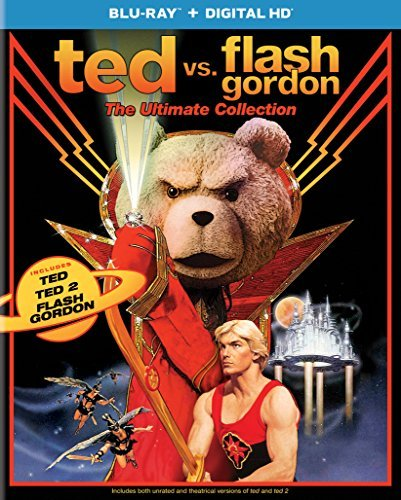 Ted Vs Flash Gordon Ultimate Collection Blu Ray