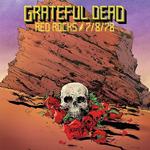 Grateful Dead Red Rocks Amphitheatre Morrison Co 7 8 78 3cd