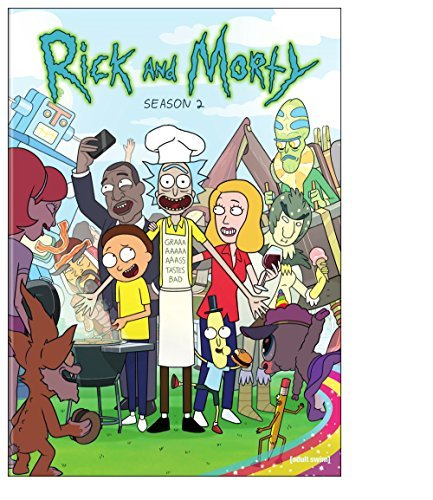 Rick & Morty Season 2 DVD