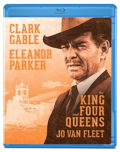 King & Four Queens Gable Parker Van Fleet Blu Ray Nr