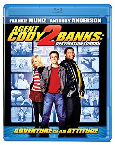 Agent Cody Banks 2 Destination London Muniz Anderson Spearritt Blu Ray Pg