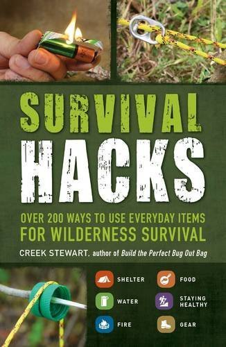 Creek Stewart Survival Hacks Over 200 Ways To Use Everyday Items For Wildernes