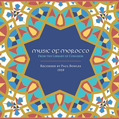 Paul Bowles Music Of Morocco Recorded By Paul Bowles 1959 4cd Box Book
