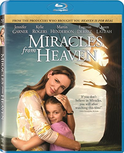 Miracles From Heaven Garner Rogers Henderson Blu Ray DVD Dc Pg