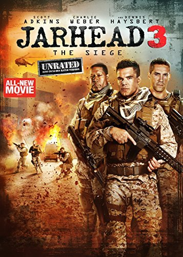Jarhead 3 The Siege Adkins Weber Haysbert DVD Unrated