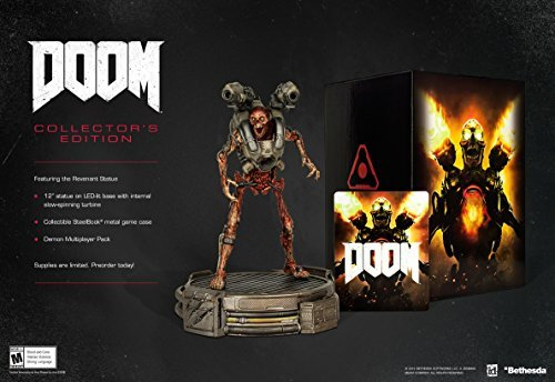 Ps4 Doom Collector's Edition