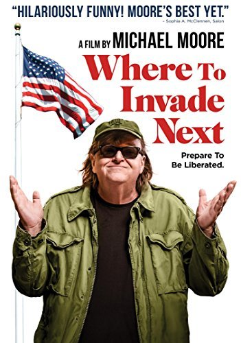 Where To Invade Next Michael Moore DVD R