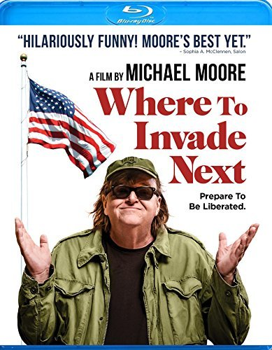 Where To Invade Next Michael Moore Blu Ray R