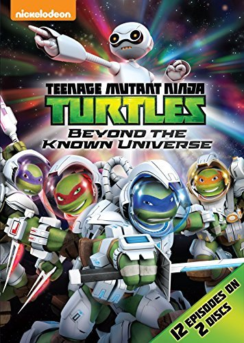 Teenage Mutant Ninja Turtles Beyond The Known Universe DVD