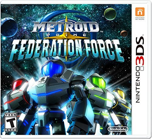 Nintendo 3ds Metroid Prime Federation Force