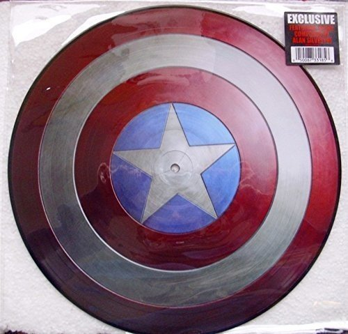 Captain America The First Avenger Soundtrack Picture Disc Picture Disc