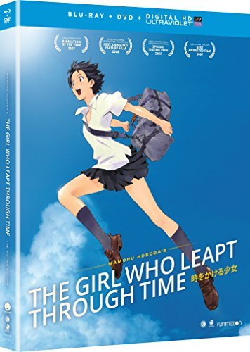Girl Who Leapt Through Time Girl Who Leapt Through Time Blu Ray DVD Dc Nr