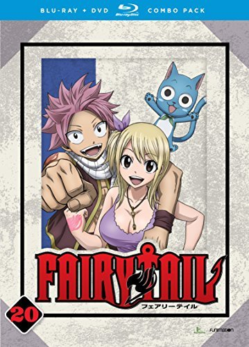 Fairy Tail Part 20 Blu Ray DVD Nr