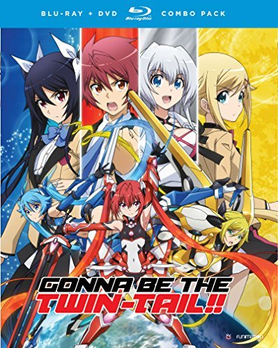 Gonna Be The Twin Tail Complete Series Blu Ray DVD Nr