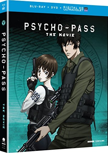 Psycho Pass The Movie Psycho Pass The Movie Blu Ray DVD Dc Nr