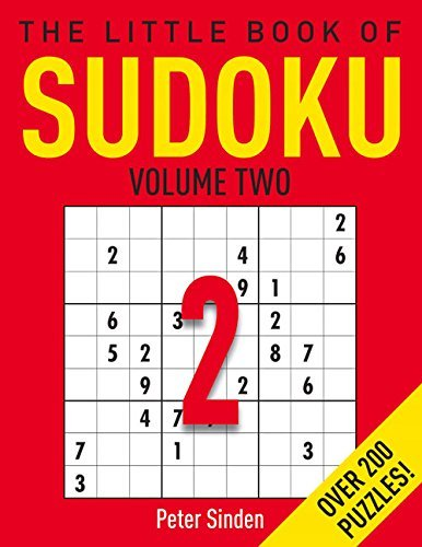 Pete Sinden The Little Book Of Sudoku 2