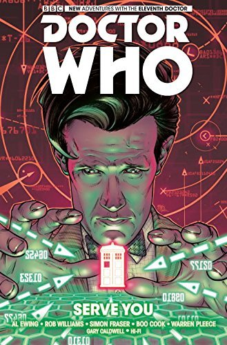 Simon Fraser Doctor Who The Eleventh Doctor Volume 2 Serve You