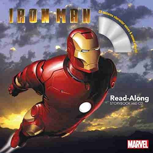 Marvel Book Group Iron Man Read Along Storybook And CD