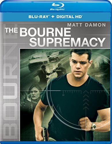 Bourne Supremacy Damon Potente Stiles Blu Ray Pg13