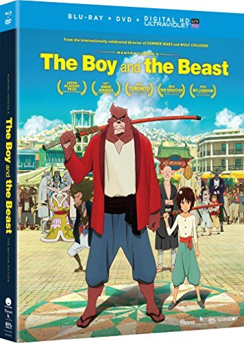 Boy & The Beast Boy & The Beast Blu Ray DVD Dc Pg13