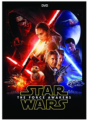 Star Wars Force Awakens Ridley Boyega Isaac DVD Pg13