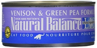 Natural Balance Venison Green Pea 6oz
