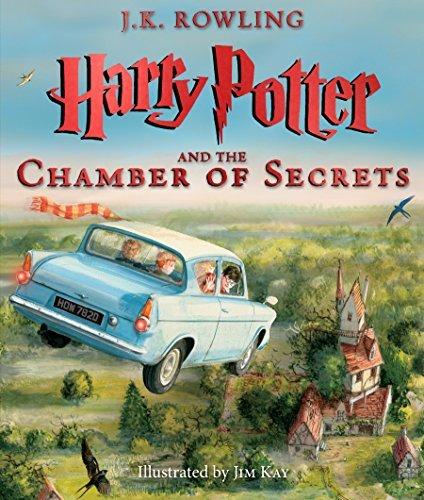J. K. Rowling Harry Potter And The Chamber Of Secrets The Illustrated Edition (harry Potter Book 2)