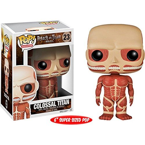Pop Anime Attack On Titan 6'' Colossal Titan