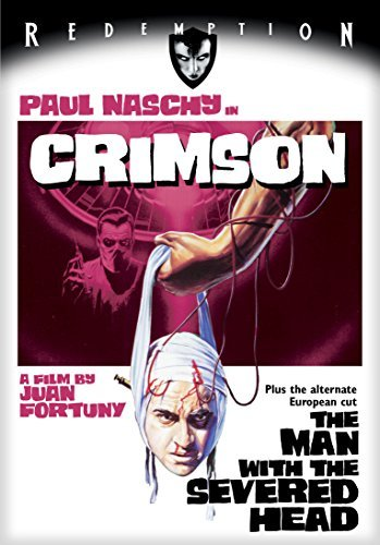 Crimson (the Man With The Severed Head) Naschy Solar DVD Nr