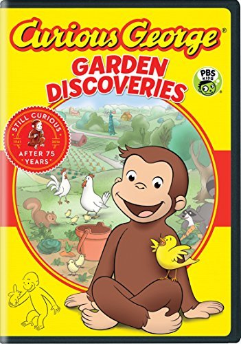 Curious George Garden Discoveries DVD