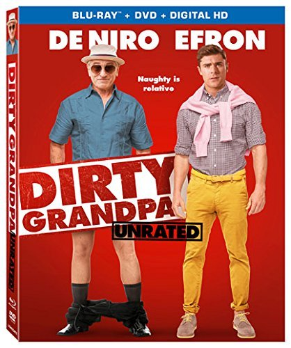 Dirty Grandpa De Niro Efron Blu Ray Unrated