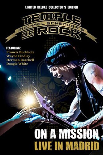 Michael Schenker's Temple Of Rock On A Mission Live In Madrid Ltd Deluxe Edition 2cd + 2br