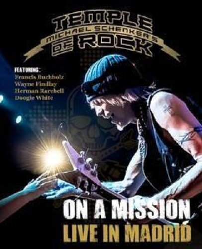 Michael Schenker's Temple Of Rock On A Mission Live In Madrid