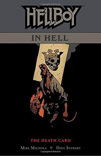 Mike Mignola Hellboy In Hell Volume 2 Death Card