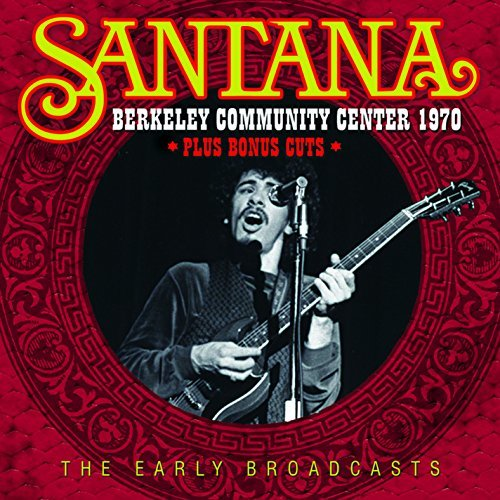 Santana Berkeley Community Center 1970