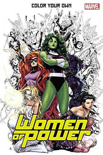 Olivier Coipel Color Your Own Women Of Power