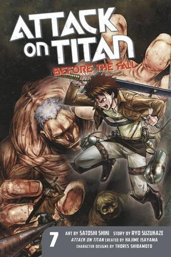 Ryo Suzukaze Attack On Titan Before The Fall Volume 7