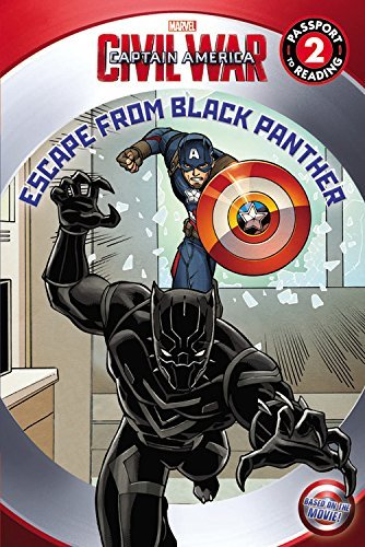 Marvel Marvel's Captain America Civil War Escape From Black Panther