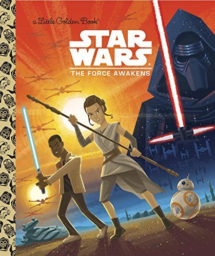 Golden Books Star Wars The Force Awakens