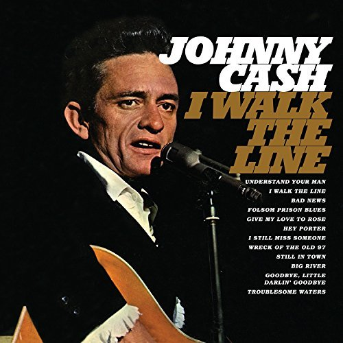 Johnny Cash I Walk The Line 180 Gram Audiophile Translucent Gold Vinyl Limited Edition Gatefold Cover
