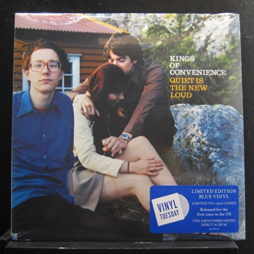 Kings Of Convenience Quiet Is The New Loud (blue Vinyl) Ltd To 1500 Copies