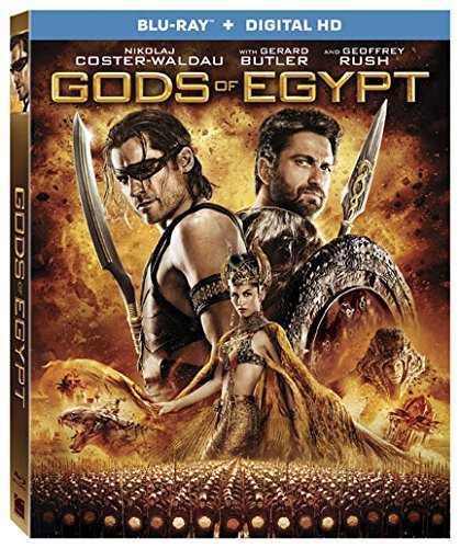 Gods Of Egypt Thwaites Butler Coster Waldau Blu Ray Dc Pg13