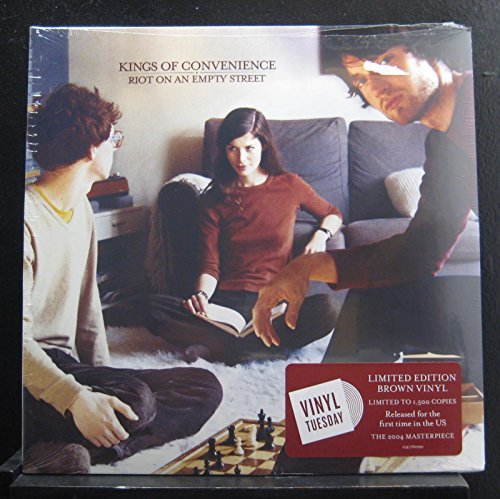 Kings Of Convenience Riot On An Empty Street (brown Vinyl) Indie Exclusive Ltd To 1500