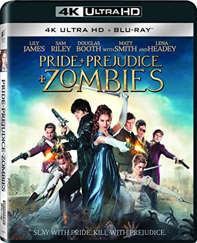 Pride & Prejudice & Zombies James Riley Huston 4k Blu Ray Pg13