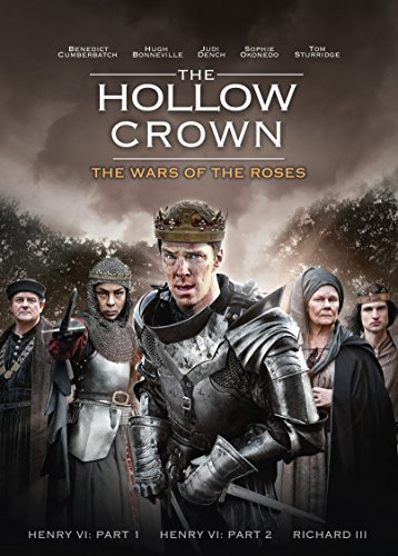 Hollow Crown The Wars Of The Roses Cumberbatch Bonneville Dench DVD Nr