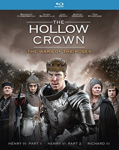 Hollow Crown The Wars Of The Roses Cumberbatch Bonneville Dench Blu Ray Nr