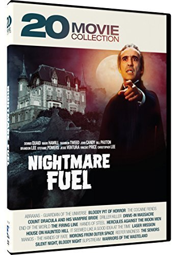 Nightmare Fuel 20 Movie Collection DVD